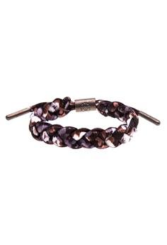 Lotus Shoe Lace Bracelet