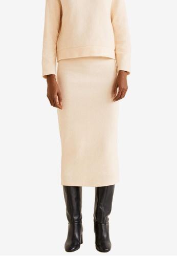 f7ceab7ca5 Buy Mango Knitted Cotton Skirt | ZALORA HK