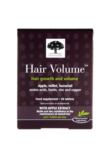 Holland & Barrett New Nordic Hair Volume 30 Tablets 74EAFESE97BFE7GS_1