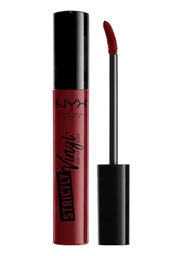 NYX Professional Makeup red NYX Professional MakeupStrictly Vinyl Lip Gloss  - BAD GIRL 508FDBE4C5B2EFGS_1