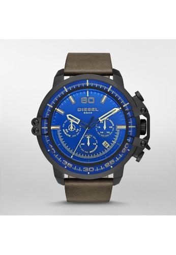 Deesprit 折扣adeye三眼計時腕錶 DZ4405, 錶類, 時尚型
