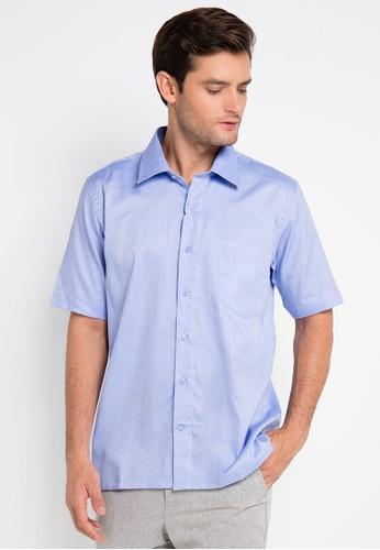 Gianni Visentin blue Regular Fit Shirt GI012AA0UX2AID_1