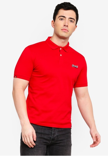 a77c27fdcfad Buy Superdry Mercerised Lite City Polo Shirt Online on ZALORA Singapore