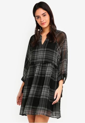 Vero Moda black Manja Short Dress 7D58EAA436087FGS_1
