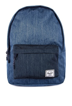 c736689dd Herschel blue Classic Mid Backpack C0BF0AC64BE12FGS_1