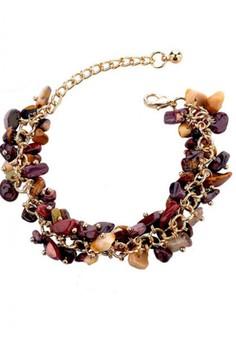 Charm Stones Bracelet by ZUMQA