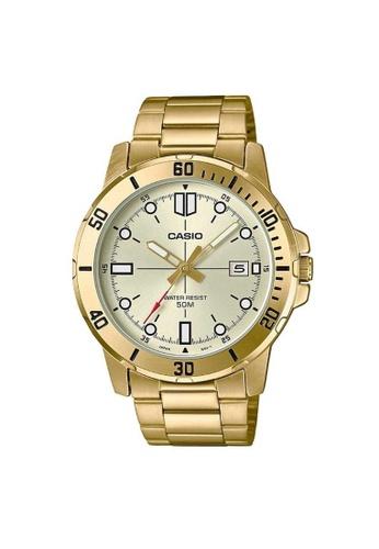 Casio gold CASIO GENERAL MTP-VD01G-9EVUDF MEN'S WATCH 2C8ACAC561251BGS_1