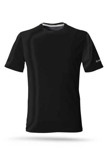 Corenation Active black Running Jersey Top - Black 33A28AA5A4AD8AGS_1