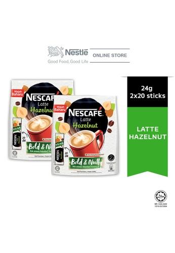 NESTLE NESCAFE Latte Hazelnut 20 Sticks 24g x2 packs 03F0AES8727600GS_1