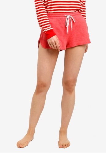 Cotton On Body red Super Soft Lounge Shorts 2AE52AA937516DGS_1