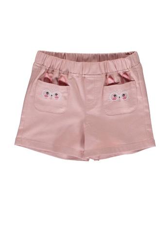 LC Waikiki pink Printed Shorts 91321KA92DA5B4GS_1