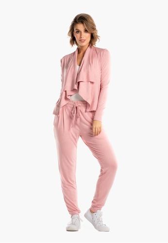 Deshabille pink Wanderlust Travel Wrap In Bag Rose 9E92EAA136FB84GS_1