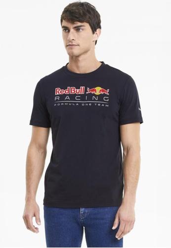 puma blue Red Bull Racing Logo Men's Tee F4966AAD1D3321GS_1