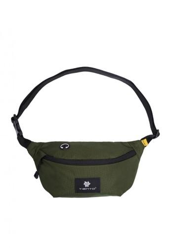 Tiento green Tiento Waist Bag Premium Army Green Tas Pinggang Hijau 99A83ACD53CD81GS_1