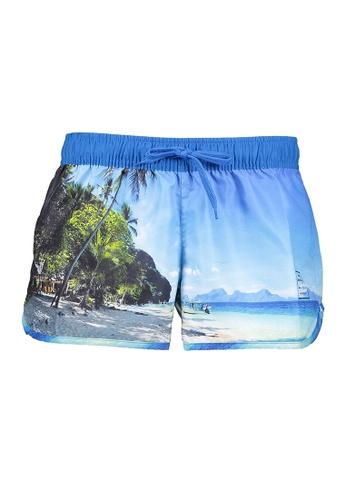 BENCH blue Swim Shorts 619E4US507E557GS_1