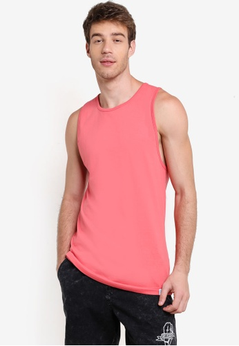 Factorie pink and orange Legacy Tank T-Shirt FA880AA65XRYMY_1