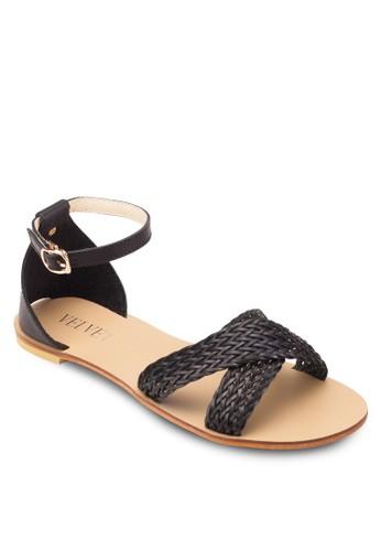 Dawn 編織寬帶包跟涼鞋, 女鞋esprit china, 鞋