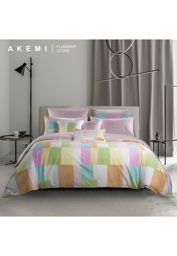 AKEMI multi AKEMI Cotton Select Adore - Emette (Quilt Cover Set). B40C5HLEE91A74GS_1