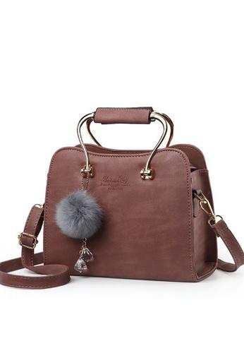 TCWK brown Ladies Handbag TC258AC70ZIBMY_1