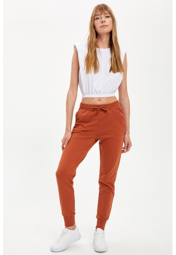 DeFacto orange Woman Knitted Trouser DFA55AABEBD2B8GS_1