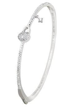 Kynda Lock K2824 Italy 925 Silver Bangle
