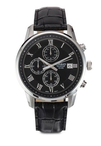 皮革錶帶圓框手esprit outlet台北錶, 錶類, 飾品配件