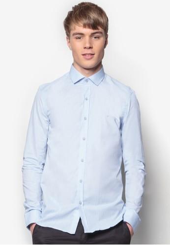 貼身長袖襯衫, 服飾, esprit 寢具印花襯衫