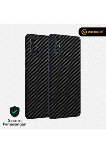 Exacoat Galaxy M51 Skins Carbon Fiber Black - Cut Only 3DE1AES896453EGS_1