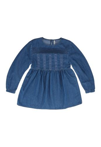 ONLY blue Bella Detailed Dress 1908EKAAC33512GS_1