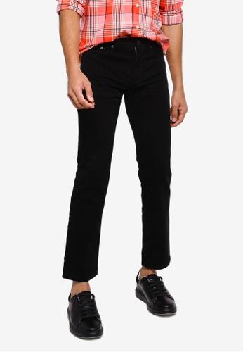 GAP black V-Straight Jeans CA343AA3946661GS_1