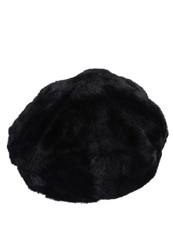 niko and ... black Fur Beret 5427EACDCE5DA4GS_1