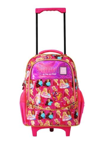 Swan pink Swan Kid Children Victor Series Primary Roll (Egirl) Trolley School Bag Swan Bag(XL) 01D5DKC7D5C7B0GS_1