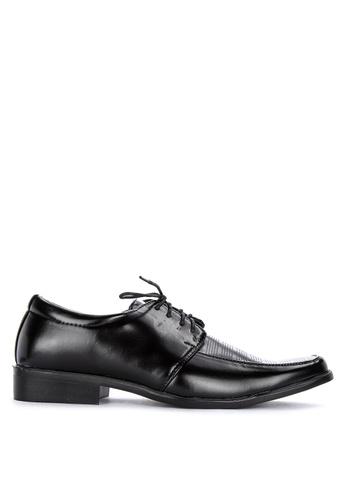 H2Ocean black Kirk Men's Formal Laced-up Shoes 6ADBFSHC311A55GS_1