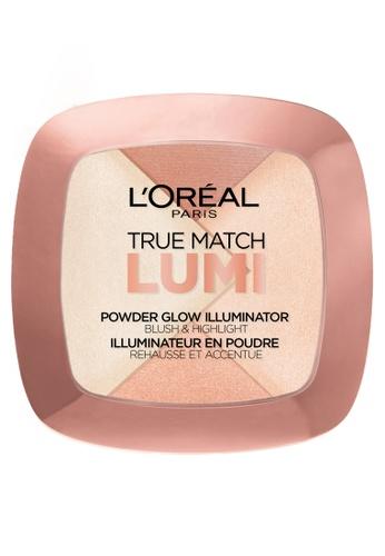 LOreal Paris N A True Match Lumi Powder Glow Illuminator N202 Rose LO674BE05PTQPH 1