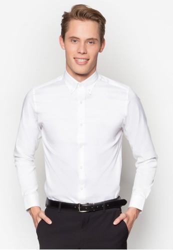 修esprit 西裝身商務長袖襯衫, 服飾, 襯衫