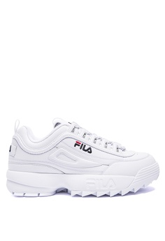 FILA white DISRUPTOR II Leather Shoes 7300FSH6923299GS 1 320957c49b
