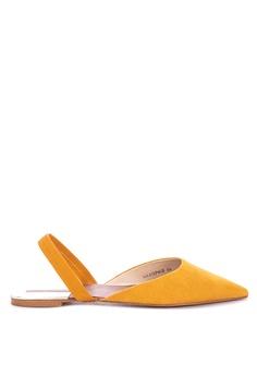 ca75d9545c8 Primadonna yellow Pointed Slingback Flats 5BA93SHCB772BDGS 1