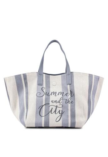cheapest price professional sale recognized brands Stripe Print Beach Bag