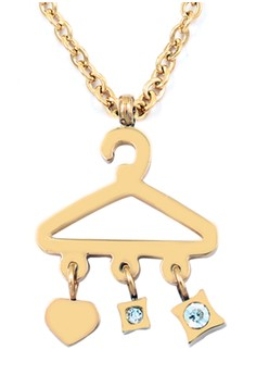 Hanger of Love Rose Gold Plated Necklace
