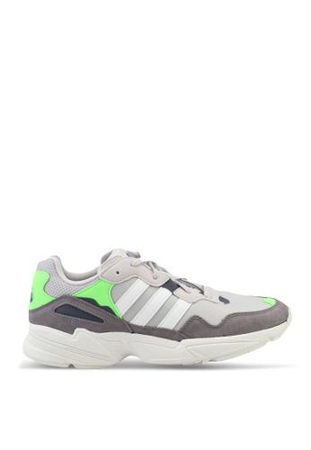 ADIDAS brown yung-96 sneakers B372ASHACCC19DGS_1