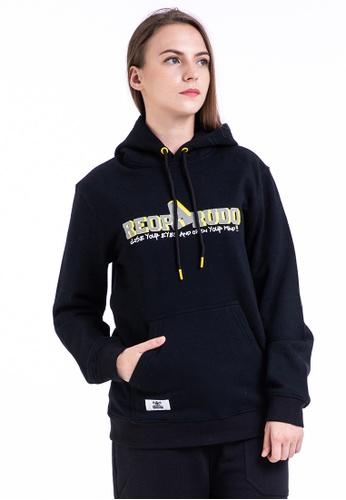 0d2efd4d4 Reoparudo black RPD Reflective Type-A Brand Logo Print Hoodie (Black)  7FB33AAB425475GS_1