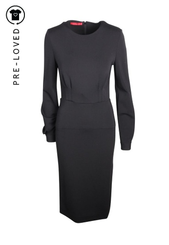 Tamara Mellon black Pre-Loved tamara mellon Black Long Dress 34668AA3595FD2GS_1