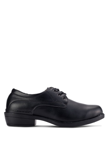 Louis Cuppers black Lace Up Business Shoes LO977SH91AUUMY_1
