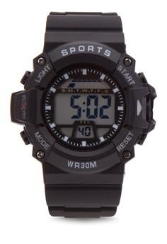Unisex Rubber Strap Watch MXPO-640D
