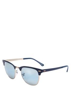 46eb0032c950 Ray-Ban blue Icons RB3716 Sunglasses 6E5A1GLD40E1ADGS 1