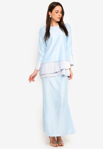 Gene Martino blue Fairy Kurung Sempit 7ACA8AA1E2EC81GS_1
