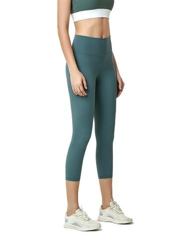 B-Code green ZWG1103b-Lady Quick Drying Running Fitness Yoga Leggings-Green EFBE7AA69C2DD9GS_1
