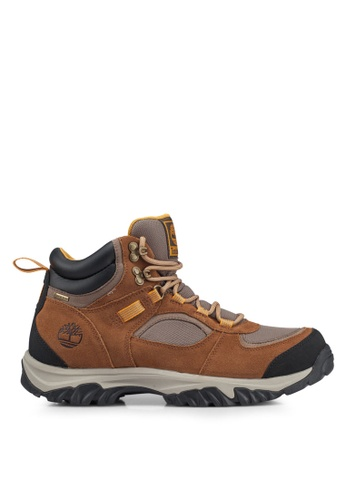 Timberland brown Mountain Major Gore-tex Membrane Mid Boots DB040SH09839B0GS_1