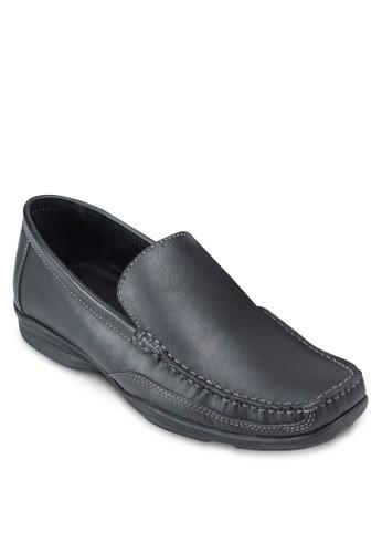 Austin 皮革方esprit hong kong頭樂福鞋, 鞋, 鞋
