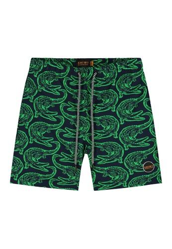 Shiwi green Boy's Printed Swimshorts A9F61KA618D9D6GS_1
